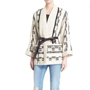 IRO Jackets & Coats - IRO Seko Wrap Jacket Size 40 $995 No Belt